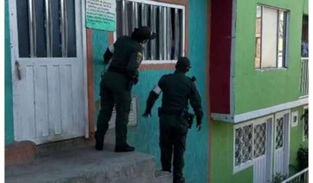 Policía en Ciudad Bolívar
