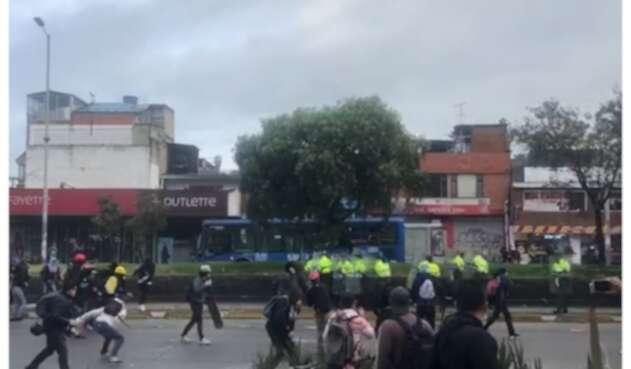Disturbios Suba 21E