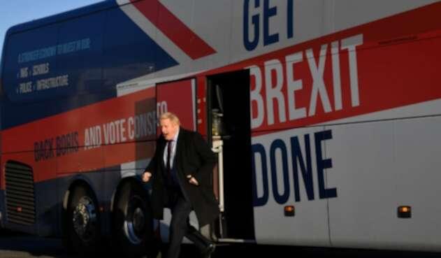 Boris Johnson, primer ministro británico