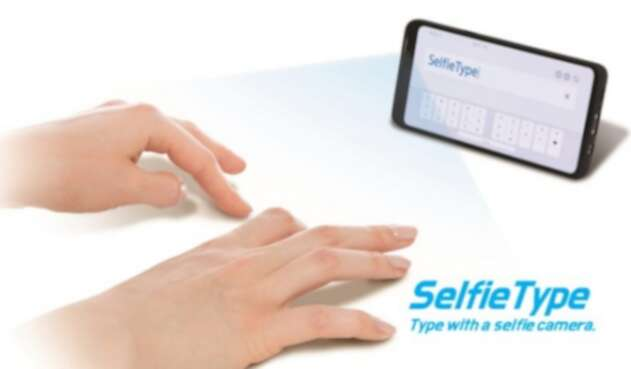 Selfie Type, teléfono digital con inteligencia artificial de Samsung