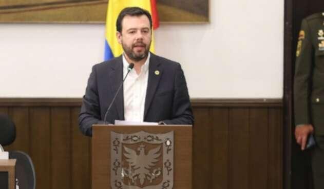 Carlos Fernando Galán, presidente del Concejo de Bogotá