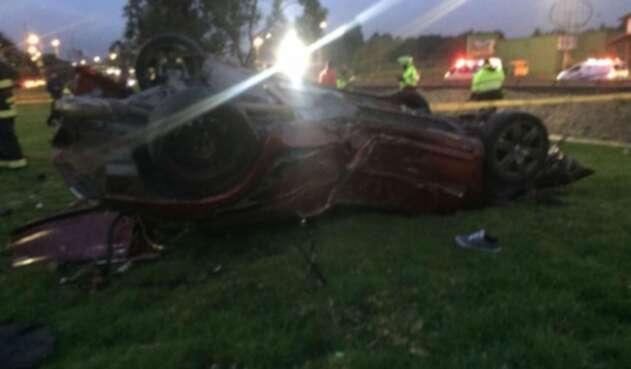 Accidente de tránsito en la NQS