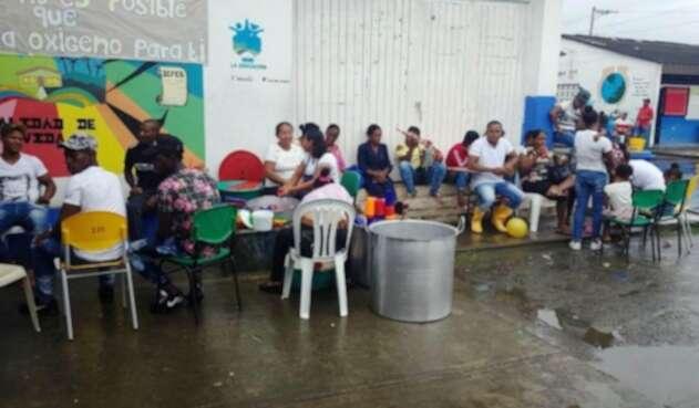 Las ayudas es para la población desplazada por grupos ilegales