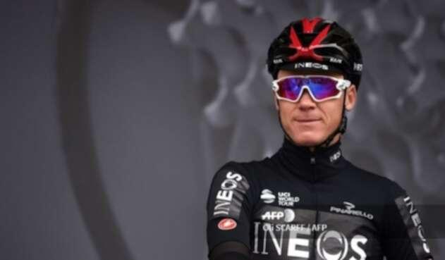 Chris Froome, ciclista británico