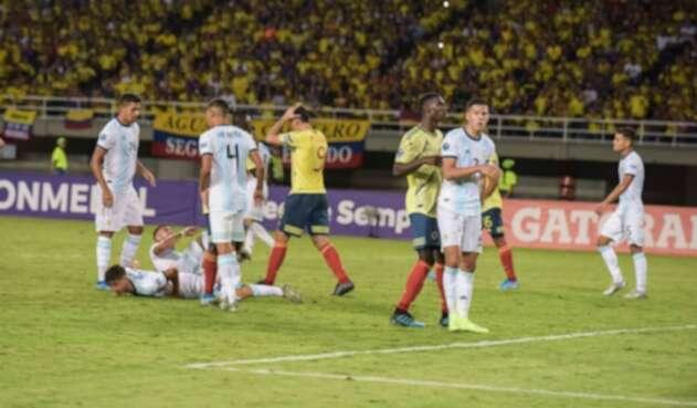 Selección Colombia sub-23 vs Argentina