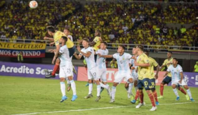 Colombia vs Argentina Preolímpico Sub 23