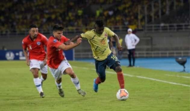 Colombia vs Chile Preolímpico