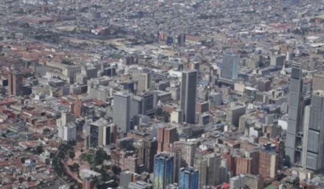 Calidad de al aire en Bogotá