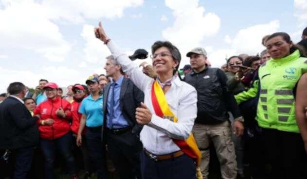 Claudia López se posesiona como nueva alcaldesa de Bogotá