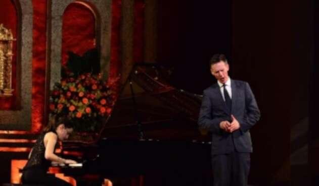Los artistas brindaron el concierto denominado 'El último canto sublime de un viajero'.