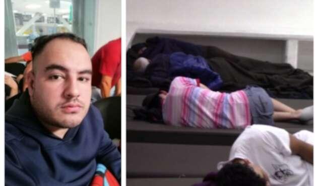 Cristhian Morales denuncia caso de xenofobia en aeropuerto de México