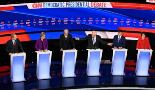 Último debate demócrata