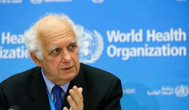 Didier Houssin, presidente del comité de emergencia de la OMS