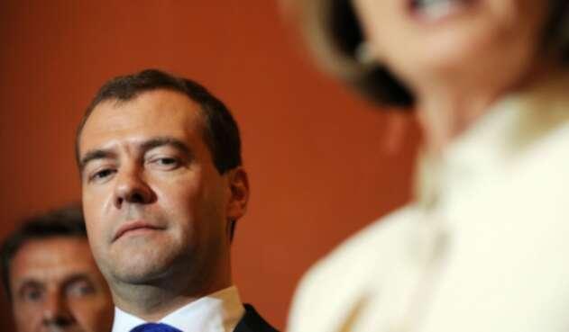 Dimitri Medvedev, primer ministro ruso