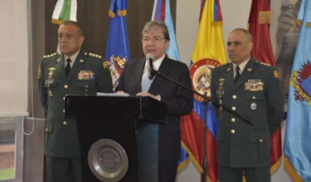 Ministro de Defensa, Carlos Holmes Trujillo