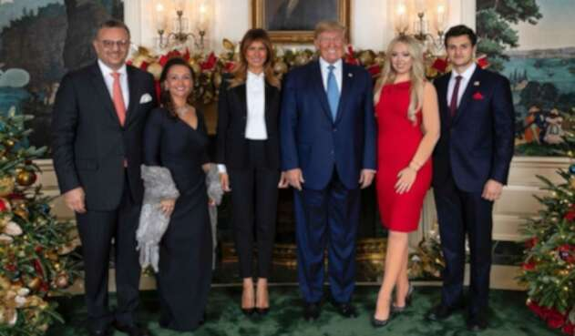 Tiffany Trump, hija del presidente Donald Trump