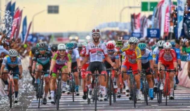Fernando Gaviria en la Vuelta a San Juan