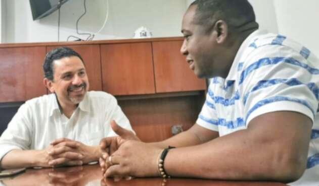 Comisionado de Paz y líder social Leyner Palacios