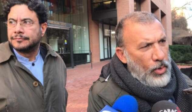 Roy Barreras e Iván Cepeda en la CIDH