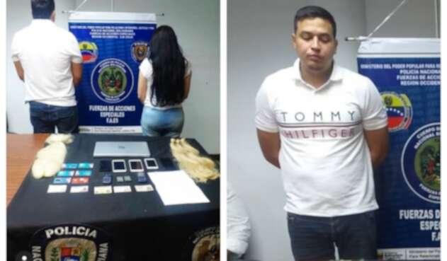 Jacob Manuel Vargas, capturado junto a Aida Merlano en Venezuela