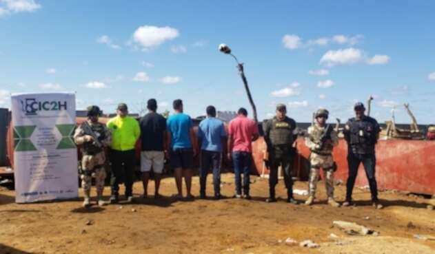 Autoridades allanaron centro de acopio de combustible ilegal en Uribia