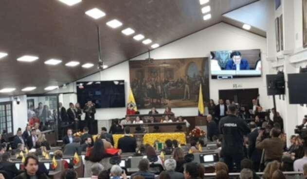 Instalación Concejo de Bogotá 2020-2023