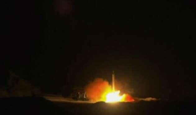 Ataque de Irán con misiles a bases militares de EE.UU.