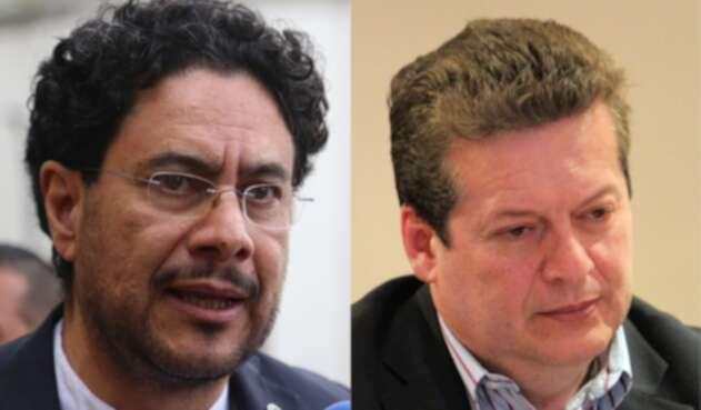 Iván Cepeda y Alirio Uribe