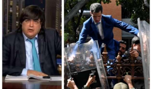 Jaime Bayly defiende a Guaidó