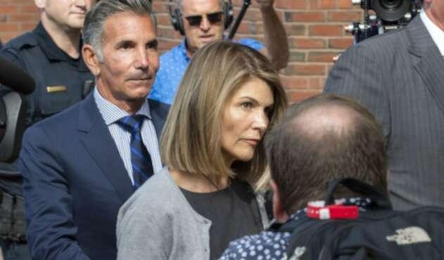 Lori Loughlin y su esposo Mossimo Giannulli