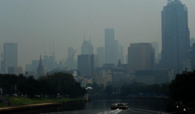 Contaminación en Melbourne, Australia