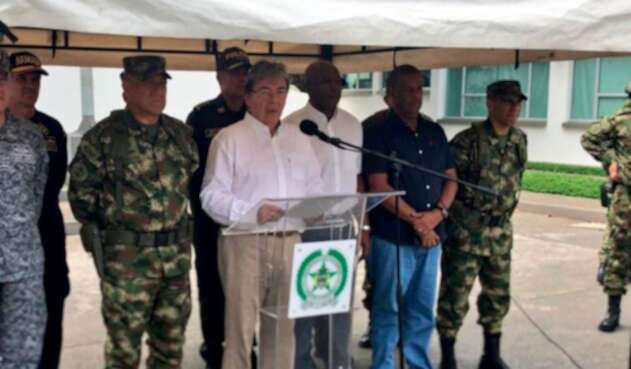 Mindefensa anuncia Distrito Especial de Policía para Quibdó