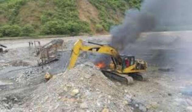 Combos delincuenciales de Bello continuarían con el negocio de la minería ilegal