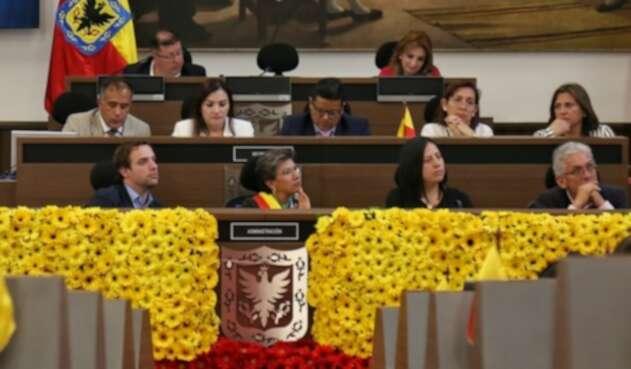 Nuevos concejales de Bogotá toman posesión de su cargo