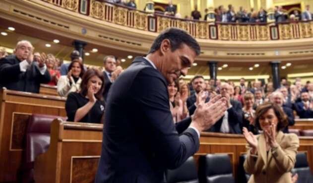 Pedro Sánchez es investido como presidente del gobierno español