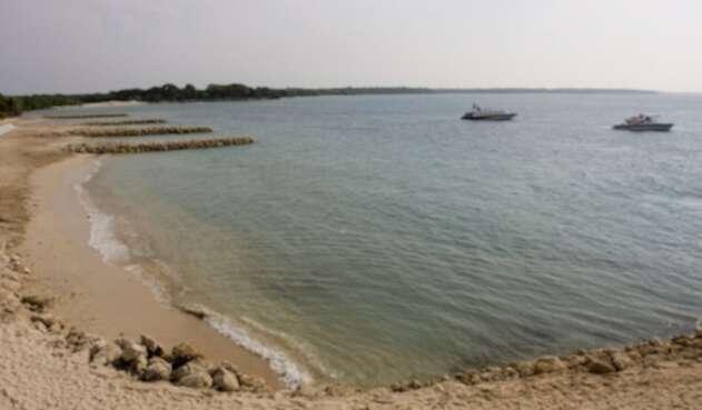 Playa Blanca en Cartagena es un patrimonio natural de Colombia.