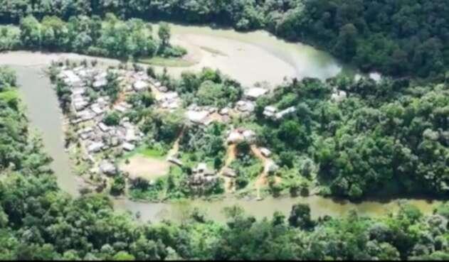 Corregimiento Pogue en Bojayá, Chocó.