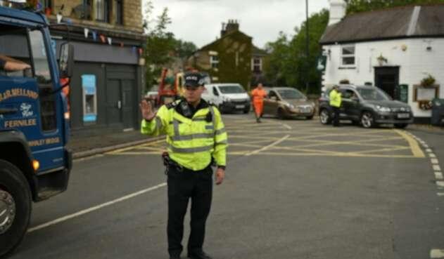 Policía en Inglaterra
