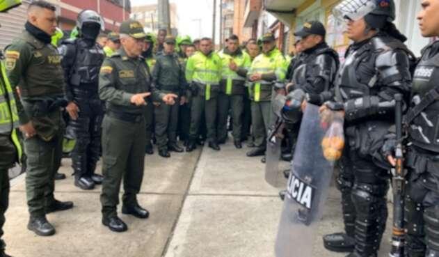 Policía Metropolitana de Bogotá