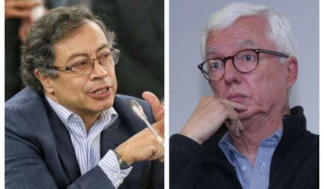 Gustavo Petro y Jorge Robledo están enfrentados por Alcaldía de Claudia López