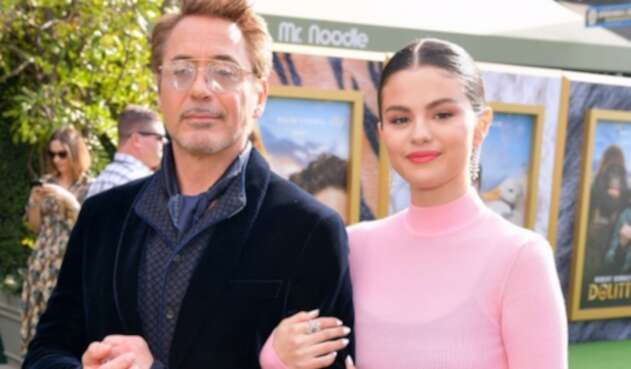 Selena Gomez - Robert Downey Jr.