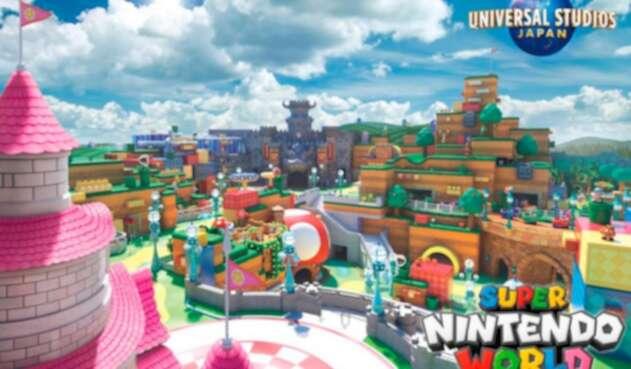 Super Nintendo World es un nuevo parque temático de Japón