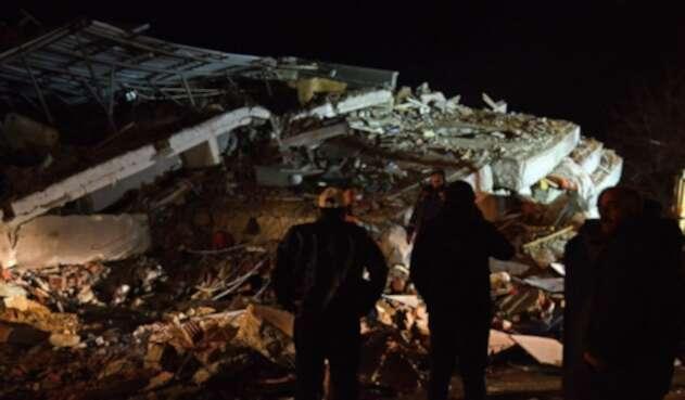 Temblor en Elazig, Turquía
