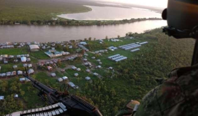 Sobrevuelos del Ejército en Chocó