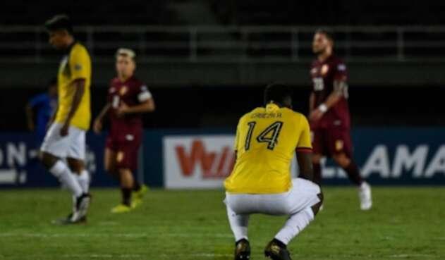 Ecuador cae con Venezuela en el Preolímpico sub 23