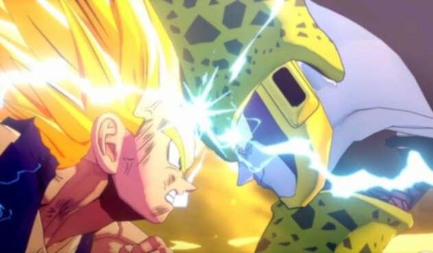 Gohan enfrenta a Cell en Dragon Ball Kakarot
