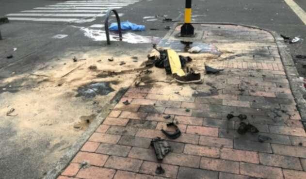 Accidente ne Bogotá