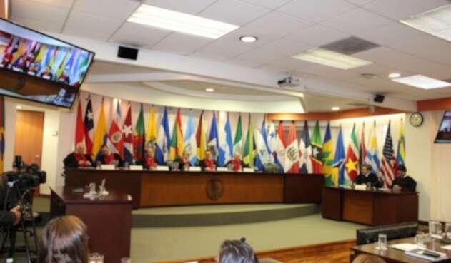 Audiencia en Corte Internacional de Derechos Humanos