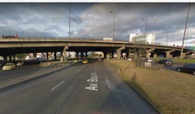 Puente peatonal Avenida Boyacá con calle 80