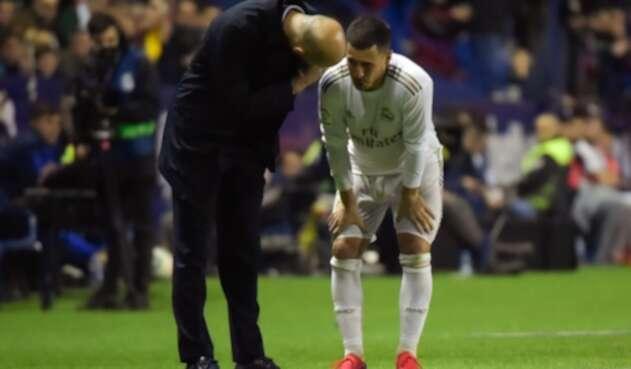 Eden Hazard nuevamente se lesiona